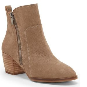 NWT Lucky Brand Lashiya Suede Ankle Boot 7
